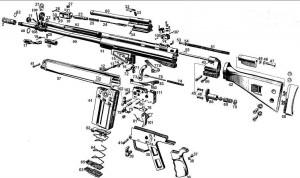 CETME RIFLE SCHEMATIC | HK G3 Schematic