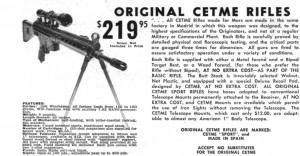 CETME Advertisement