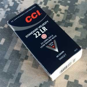CCI Standard Velocity 22 Box
