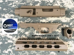 Modular Driven Technologies TAC21 Chassis FDE www.combatrifle.com