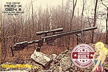AB Arms Remington 700 MOD X Chassis Side Folder Gen 3