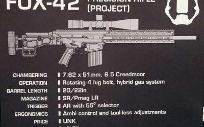 KRG FOX-42 Precision Rifle | MAGPUL MASSOUD