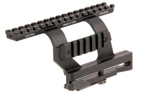 Picture of a UTG PRO QD AK Side Mount ak 47 Scope Mount - Combatrifle.com