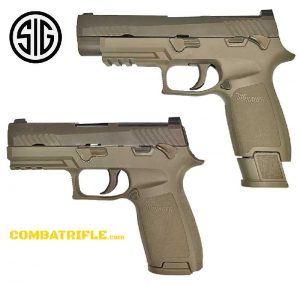 SIG SAUER P320 MODULAR HANDGUN is the US ARMY replacement for the Beretta M9