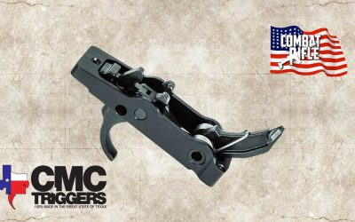CMC AK Elite Trigger, Traditional AK, 4.5-5lb Pull, Single Stage, Pattern Bow-92605
