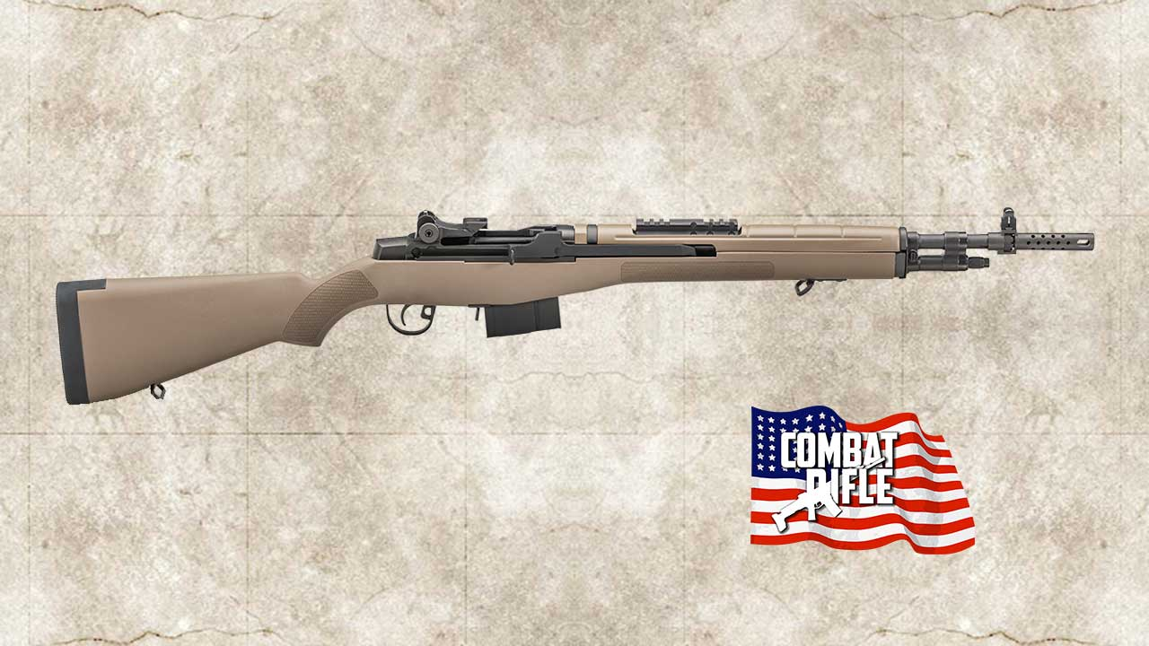 Picture of a Springfield Armory M1A Scout Squad Model